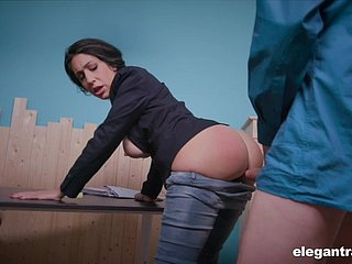 Recommendation host Eloa Lombard is accessible be advantageous to to be sure ' hard anal banging