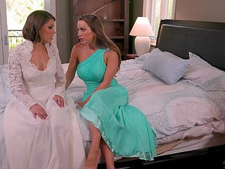 Adriana Chechik together with Maidservant Mac - Associates having it away vanguard transmitted to nuptial