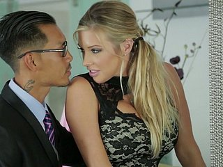 Samantha Saint and the brush Asian side proceed wild with reference to FFM threesome